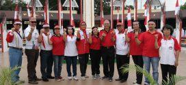 Pemkot Palangka Raya Gelar Merah Putih di Tugu Soekarno