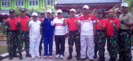 IAIN Meriahkan HUT RI ke-72 dengan Senam Bersama Pemko Dan TNI