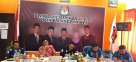 KPU Palangka Raya Lakukan Vefirikasi Faktual Partai Politik