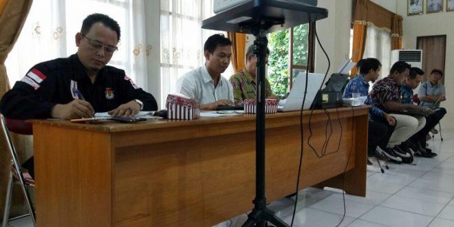 PPK Pahandut Juga Gelar Pleno Verifikasi Faktual Dukungan Calon Perseorangan