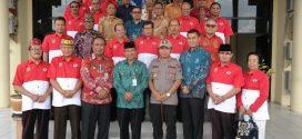 Supa Hasundau Walikota dengan Kepengurusan FPK Kota Palangka Raya
