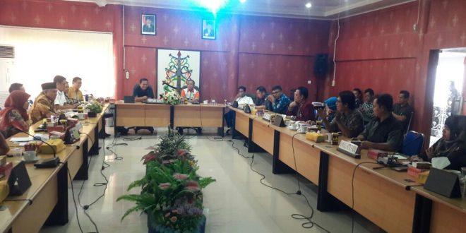 DPRD Kota Palangka Raya Rapat   Bahas Tahapan Pilkada 2018