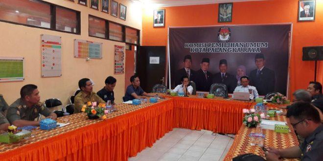 KPU Kota palangka Raya, Alat Peraga Kampanye Ditata