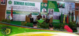 Badan Kesbangpol Kota Palangka Raya Hadiri Seminar Nasional