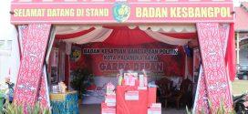 Badan Kesbangpol Siapkan Hadiah Untuk Pengunjung Standnya di Palangka Raya Fair 2108