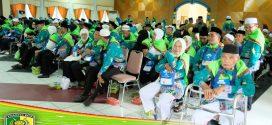 Walikota Palangka Raya Berangkatkan 222 Calon Haji ke Makkah