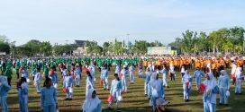 TNI Pecahkan Rekor Muri, Tari Gemu Famire 1 Untuk Indonesia