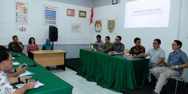 KPU Provinsi Kalteng Beberkan Jumlah APK Untuk Peserta Pemilu 2019
