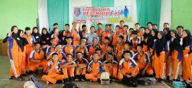 70 Anggota OSIS Terima Materi Politik Badan Kesbangpol Kota Palangka Raya