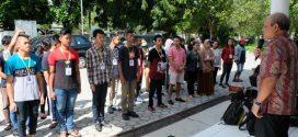 Kaban Kesbangpol Resmi Melepas 56 Peserta IBAB ke Sampit