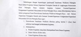 Acuan Permintaan Sambutan Walikota