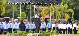 Wakil Walikota Palangka Raya Pimpin Apel Gabungan