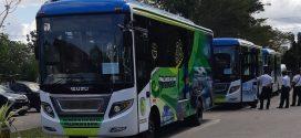 Program Kerja Nyata 100 Hari, Walikota Palangka Raya Resmikan Operasional BRT