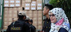 Badan Kesbangpol Kota Palangka Raya Dampingi Penjemputan Logistik Pemilu 2019