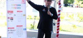 Sosialisasi Tahapan Pemilu 2019 Lewat Senam Kreasi Jingle Pemilu
