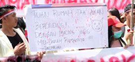 Mahasiswa IAHN-TP Tuntut Kabiro AUAK Kader Hindu