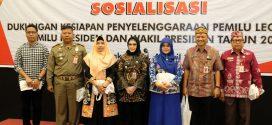 Badan Kesbangpol Sosialisasi Dukungan Pemilu 2019