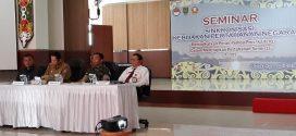 Kemenhan Kalteng Gelar Seminar Pertahanan Semesta