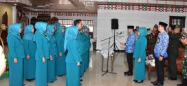 Walikota Palangka Raya Lantik Pengurus PKK Kota