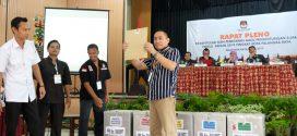 KPU Palangka Raya Plenokan 3 Kecamatan