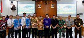 Forkopimda Kota Palangka Raya Kaji Banding di Kabupaten Klungkung