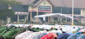 Pemerintah Kota Palangka Raya Gelar Sholat Istisqo dan Do'a Lintas Agama
