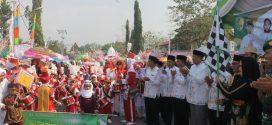 Sambut 1 Muharram 1441 H, Pawai Tarhib Kota Palangka Raya Meriah