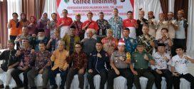 """Coffee Morning"", Upaya Mendukung Kamtramtibmas di Kota Palangka Raya"