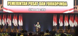 Buka Rakornas Forkopimda, Jokowi Ingatkan Kepala Daerah